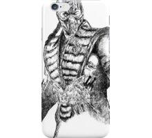 Sub-Zero MKX Art iPhone Case/Skin