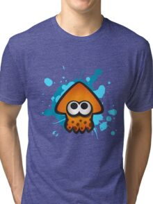 Splatoon Squid on Ink Tri-blend T-Shirt