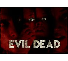 Evil Dead (remake) poster Photographic Print