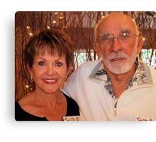 Claudette & Dick Raczuk Canvas Print