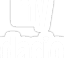 Bodacious Shirt (WHITE) Sticker