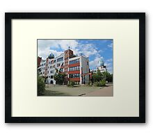 Luther-Melanchthon-Gymnasium in Wittenberg Framed Print