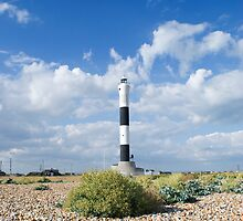 Dungeness Lighthouse by Nigel Bangert