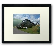 Wessex Helicopter at Tangmere Framed Print