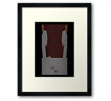 Breaking Bad cousins Framed Print