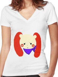 Plusle Women's Fitted V-Neck T-Shirt