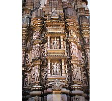 Temples of Khajuraho Photographic Print