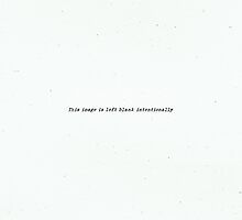 Image left blank intentionally by emilegraphics