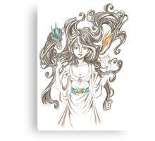 Dimond Dragons Canvas Print