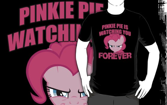 Pinkie Pie is Watching You Forever by sirhcx