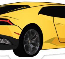 Lamborghini Huracán Sketch Sticker