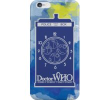 Wibbly Wobly Timey Wimey iPhone Case/Skin