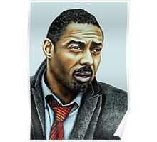 Idris Elba plays Luther Poster