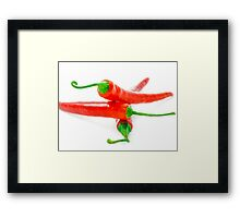Chili Framed Print
