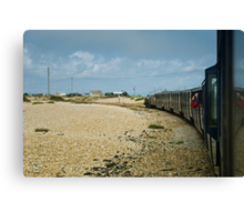 Leaving Dungeness Canvas Print