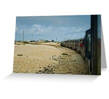 Leaving Dungeness Greeting Card