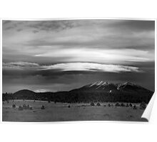 San Francisco Peaks From Williams Poster