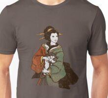 Geisha with a neko T-Shirt