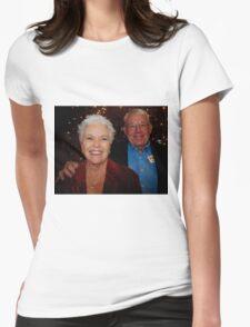 Georgean & Eddie Ebach Womens Fitted T-Shirt