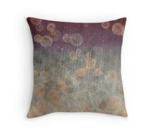 Ancient Bubbles Throw Pillow