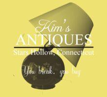 Kim's Antiques, you break you buy Kids Clothes