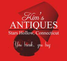 Kim's Antiques, you break you buy by PinkHorcrux