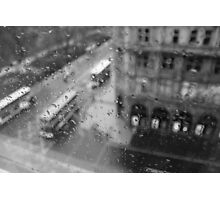A Rainy Day in Edinburgh Photographic Print