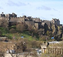 Edinburgh Castle by caterpillarcat