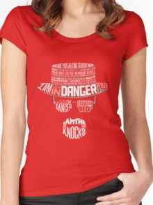 One Who Knocks Women's Fitted Scoop T-Shirt