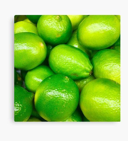 Green Fruit 4 Canvas Print