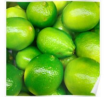 Green Fruit 4 Poster
