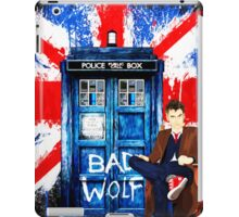 Police Box Bad Wolf iPad Case/Skin