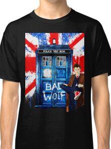 Police Box Bad Wolf Classic T-Shirt