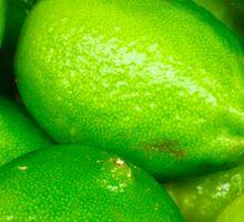 Green Fruit 4 Sticker