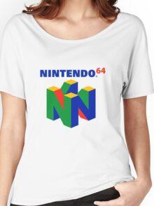 Nintendo 64 Logo HD Women's Relaxed Fit T-Shirt