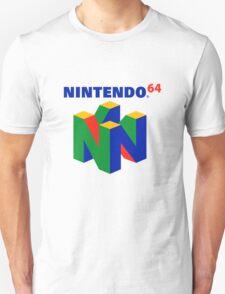 Nintendo 64 Logo HD T-Shirt