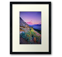 Naramata Sunset I Framed Print