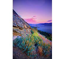 Naramata Sunset I Photographic Print