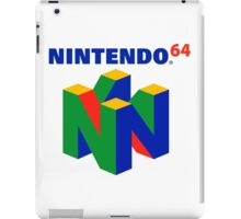 Nintendo 64 Logo HD iPad Case/Skin