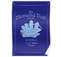Diamond Dust Vodka Poster