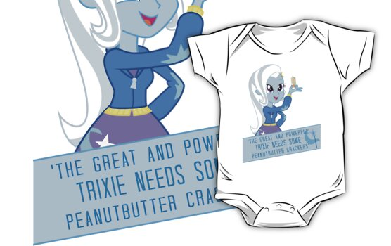 Trixie's peanut butter crackers by PinkiexDash