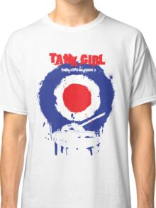 "Tank Girl ""Target"" Classic T-Shirt"