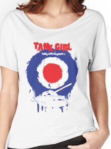 "Tank Girl ""Target"" Women's Relaxed Fit T-Shirt"