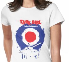 "Tank Girl ""Target"" Womens Fitted T-Shirt"