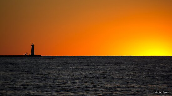 The Glow of Sunset Past by Mikell Herrick