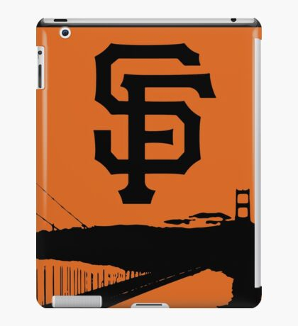 San Francisco Giants and the Golden Gate bridge iPad Case/Skin