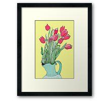 Red Tulips ~  Framed Print