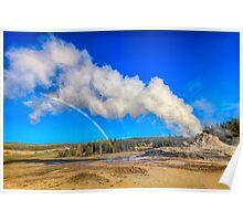 Rainbow of steam Poster