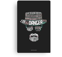 One Who Knocks Canvas Print