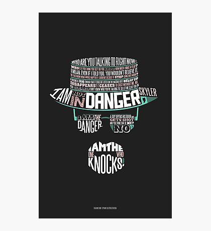 One Who Knocks Photographic Print